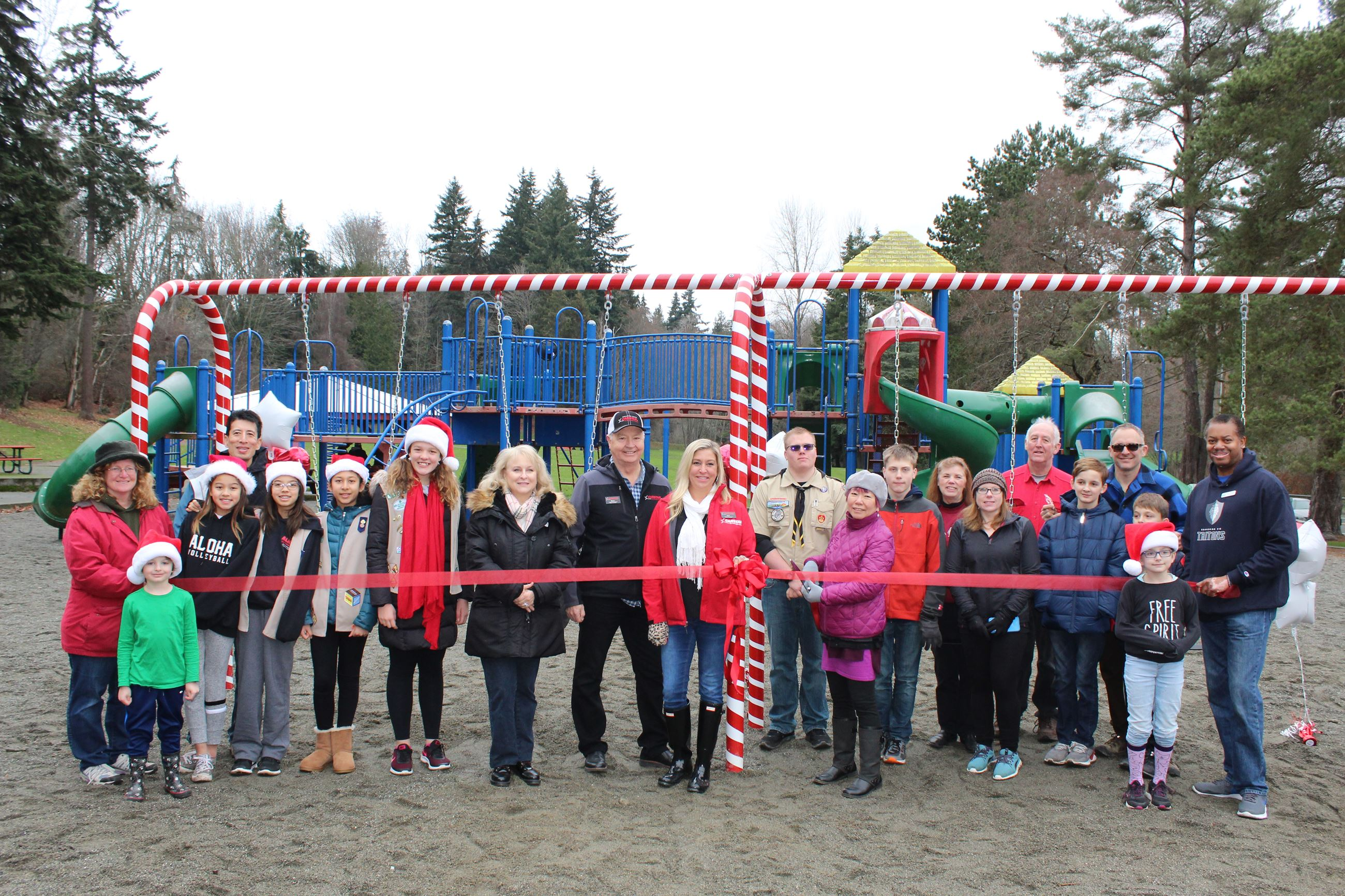 Ribbon Cutting Ceremony at Terrace Creek Park