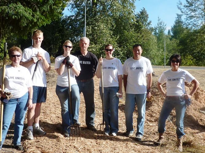 United Day of Caring Volunteers