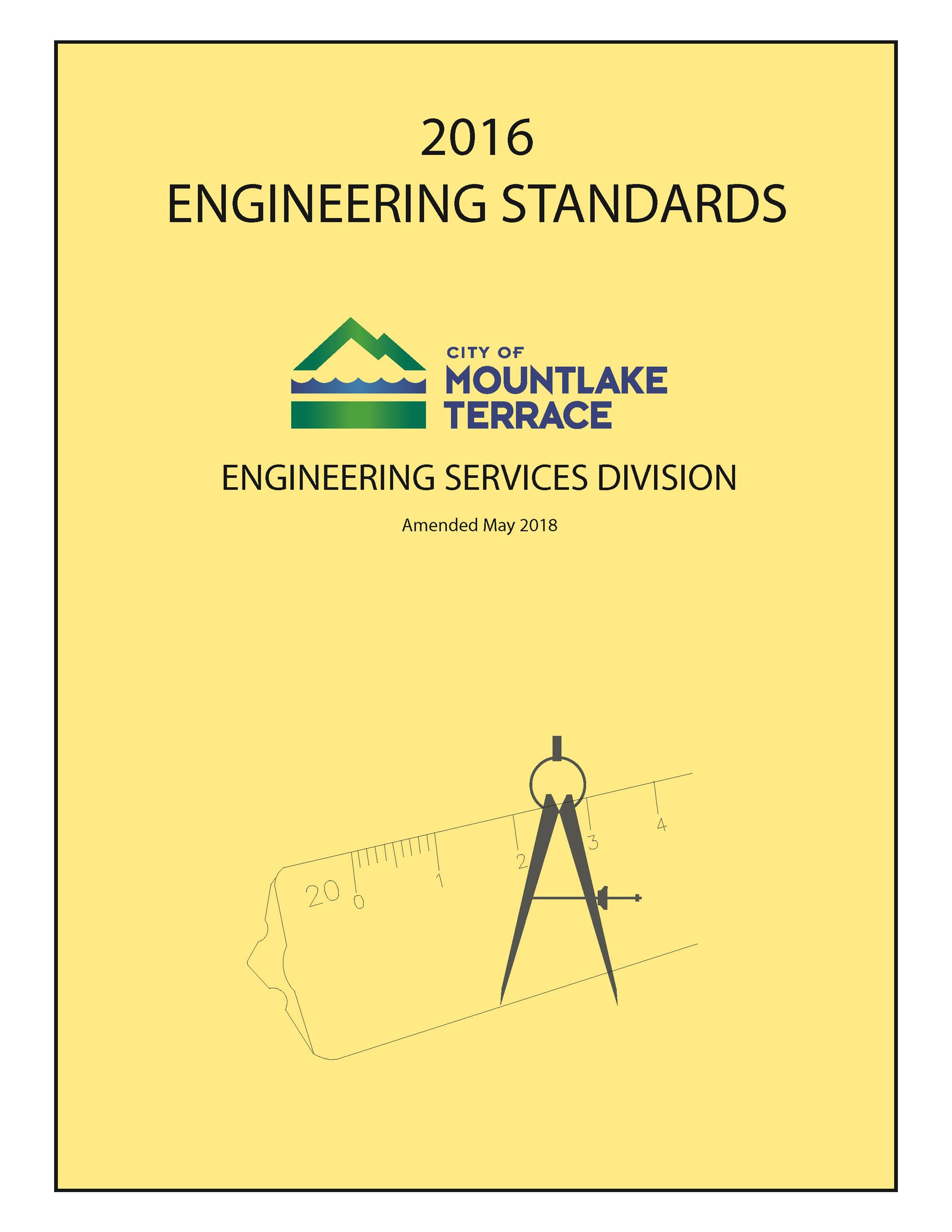 2016 Engineering Standards Cover