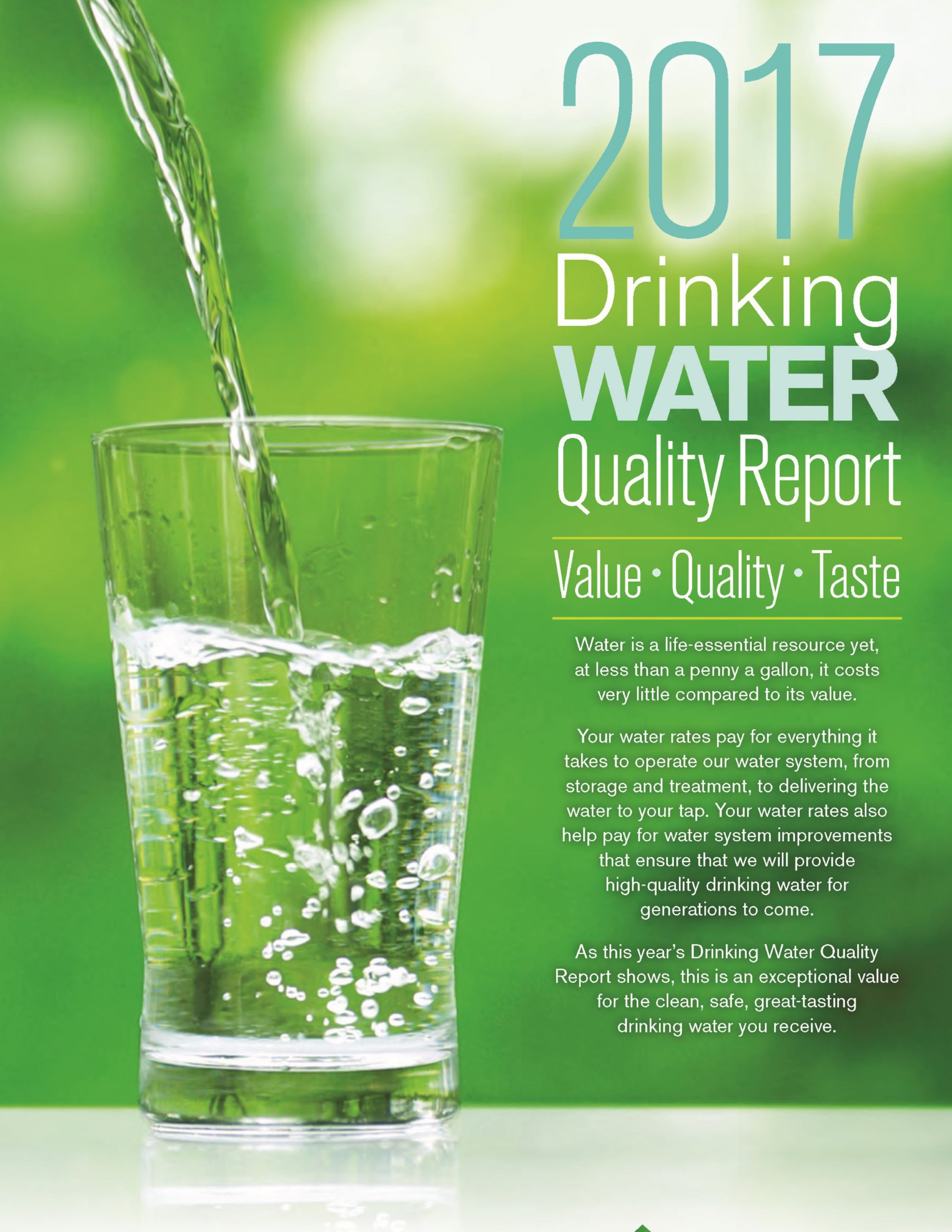 2017 Water Quality Report Opens in new window