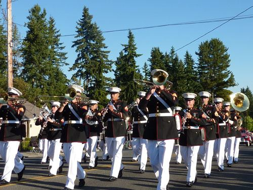 Marine Corp Band at Tour de Terrace